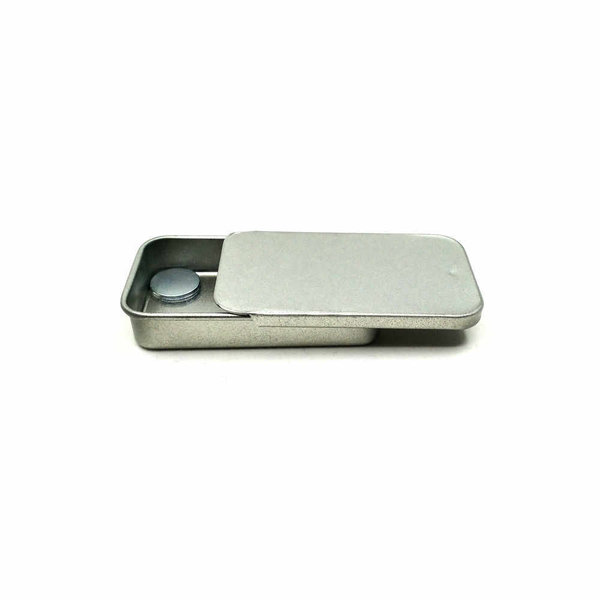 Magnetic Steel Geocache Container, 6 x 3.4 cm