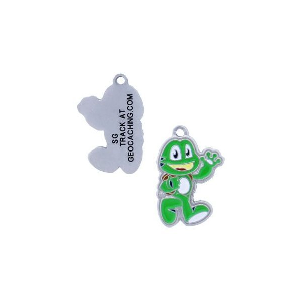 Signal the Frog Nano Geocoin