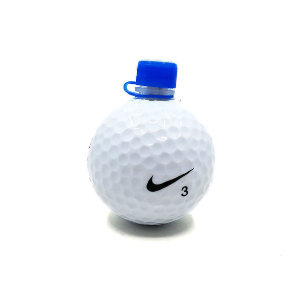 Golf Ball with Nano Container and Logsheet
