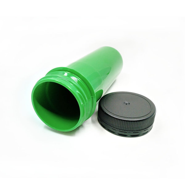 Green PET Preform XL, Small Cache Container